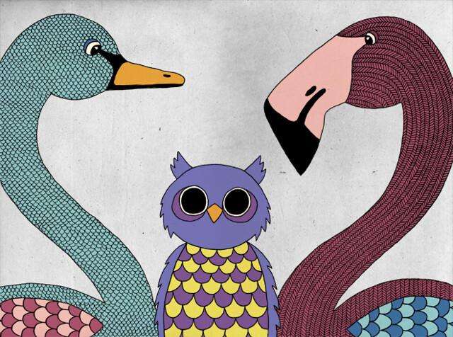 Fågelfamiljen