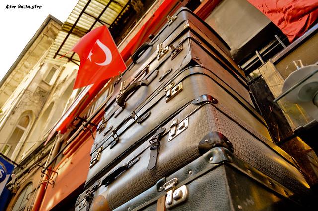 Maletas en Istanbul