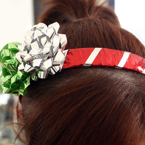 Christmas Gift Wrap Headband