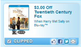 $3.00 Off When Harry Met Sally On Blu-ray Coupon