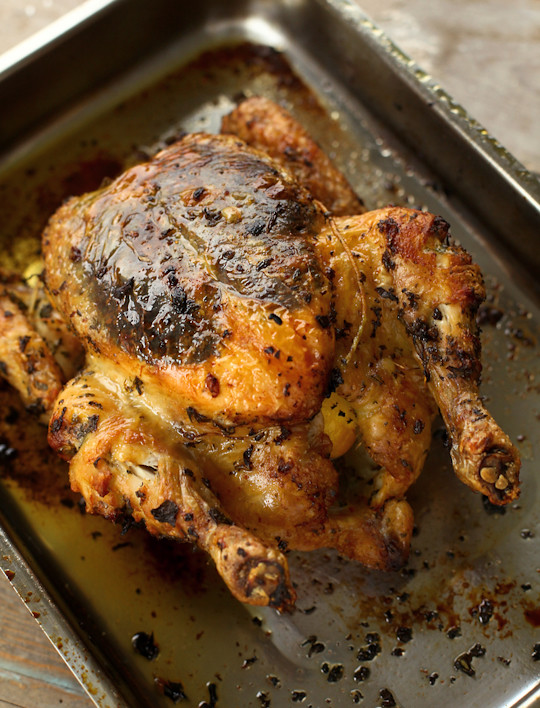 roasted herb chicken