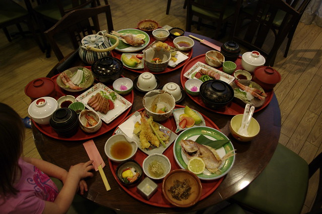 exit feast: before: this is all just for two people