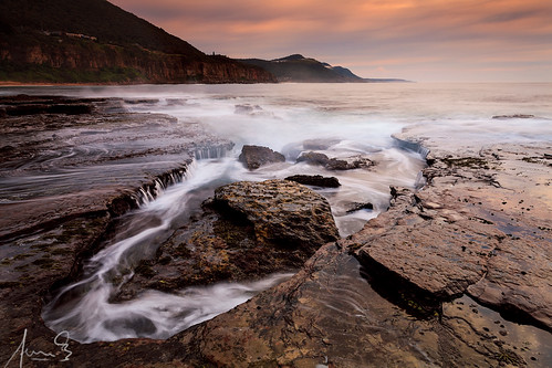 Coalcliff- a misty morning
