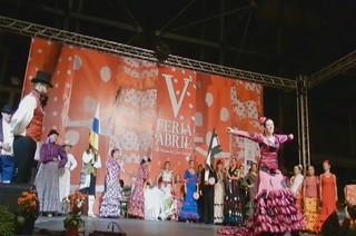 video 05 Gala Clausura Volantes de Compas V Feria Abril Las Palmas de Gran Canaria 2012