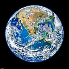 NASA's  Blue Marble 2 Edited - Ottawa  05 12