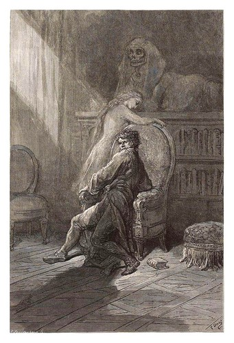 012-The Raven… Illustrated by Gustave Doré-1883-BNF-Gallica