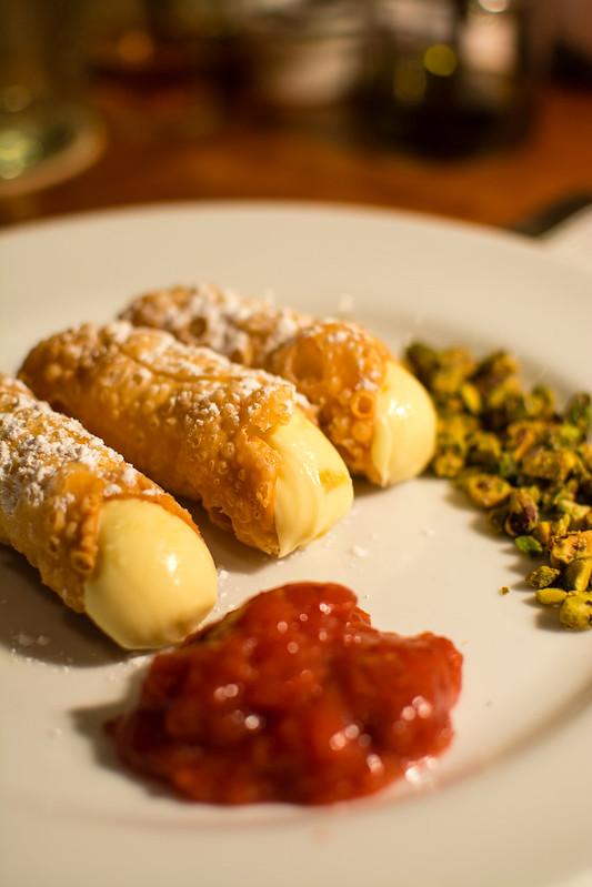 Cannoli at Pastaria
