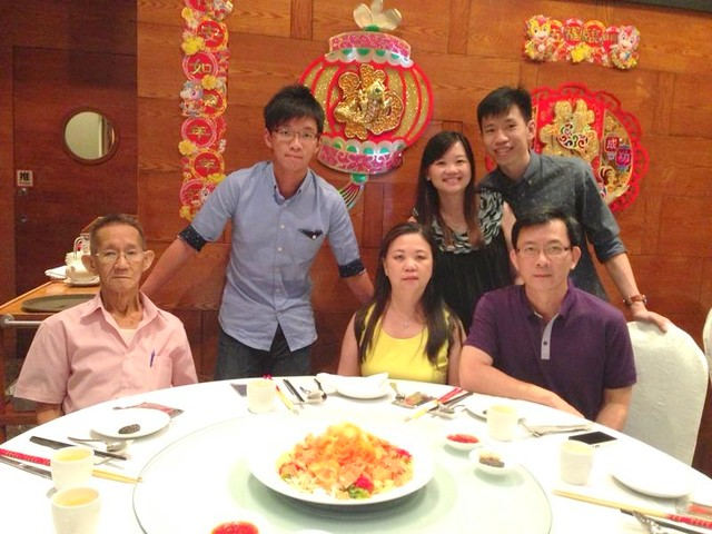 CNY with grandpa