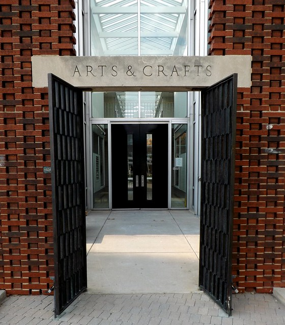 Entrance: Yamasaki Building, College for Creative Studies--Detroit MI