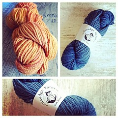 New yarn from Smudge Yarns in Ireland. #Irish #Aran #knitting #yarn. #YarnPorn
