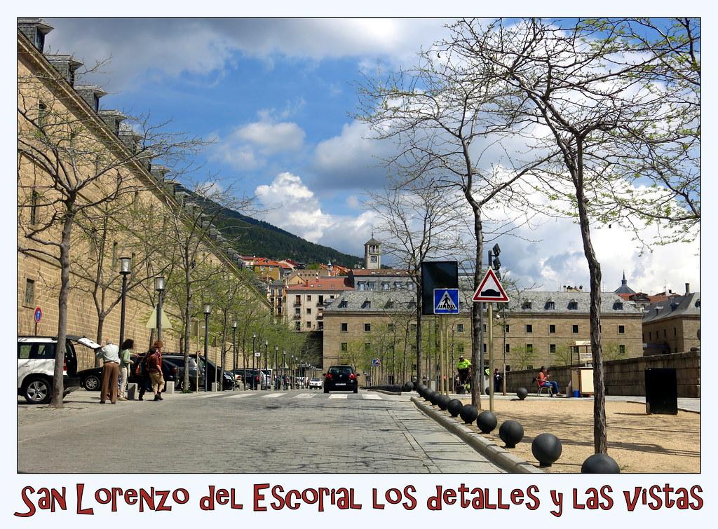 San Lorenzo del Escorial los detalles y las vistas