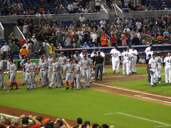 Brawl Averted at Marlins Park