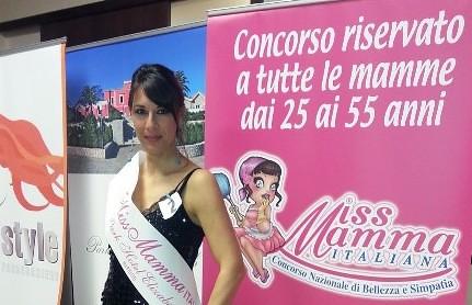 Carmela Balsamo, polignanese, Miss Mamma  polignano