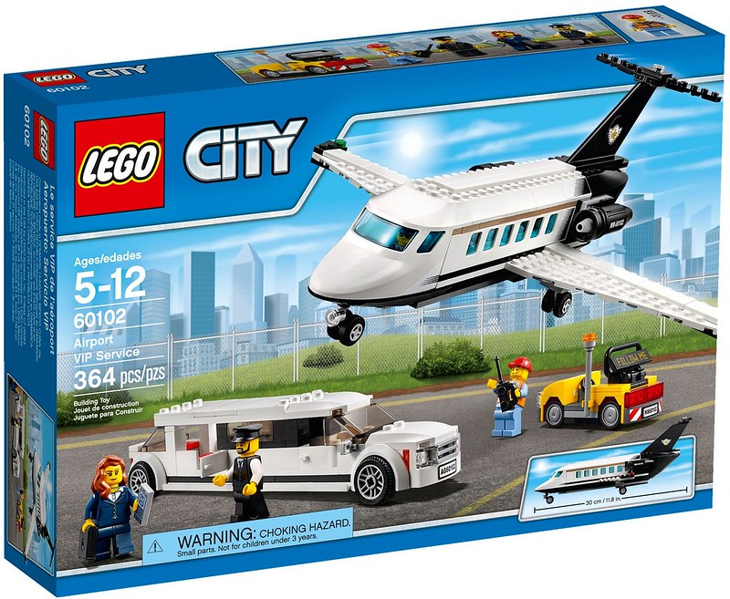 LEGO City Sets 2016: 60102 - Airport VIP Service