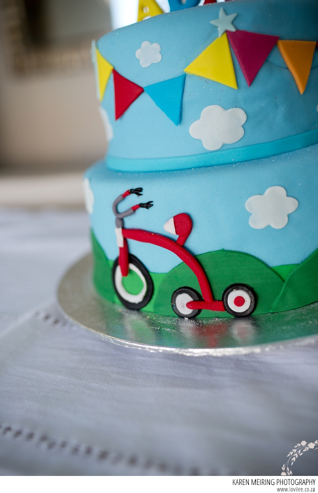 Bicycle Themed Kids Party