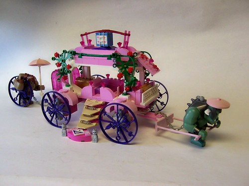 monster's carriage ride