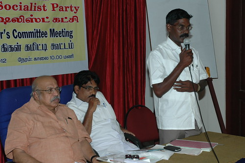 RSP All India General Secretary T.J Chandrachoodan and Tamilnadu State Convener Dr.A.Ravindranath Kennedy M.D(Acu).,attended the State Organaiser`s Committee Meeting at Madurai... 52 by Dr.A.Ravindranathkennedy M.D(Acu)