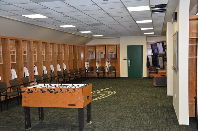 Stevenson Lacrosse Locker Room