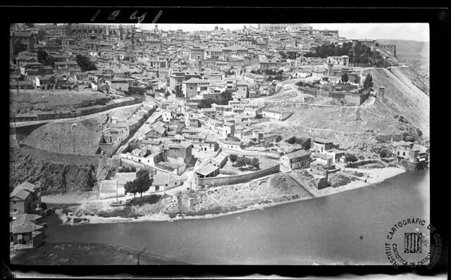 Toledo en 1933. Fotografía de Gonzalo de Reparaz Ruiz. © Institut Cartogràfic de Catalunya