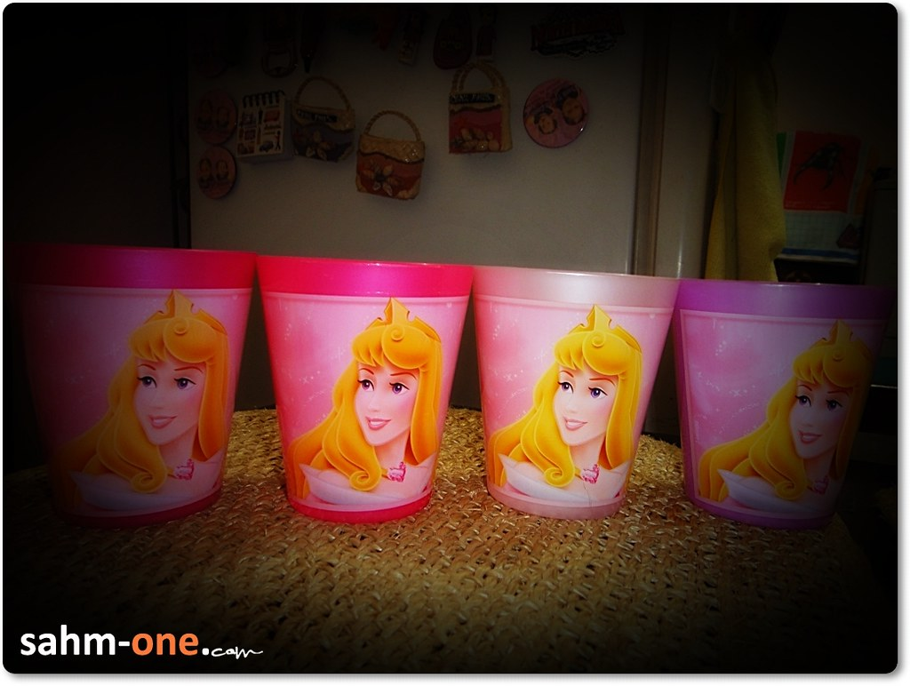Pack of 4 Disney tumblers