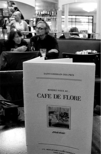 Café de Flore, Paris 3apr2011
