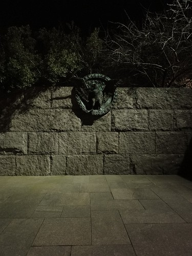 National symbol at Roosevelt Memorial