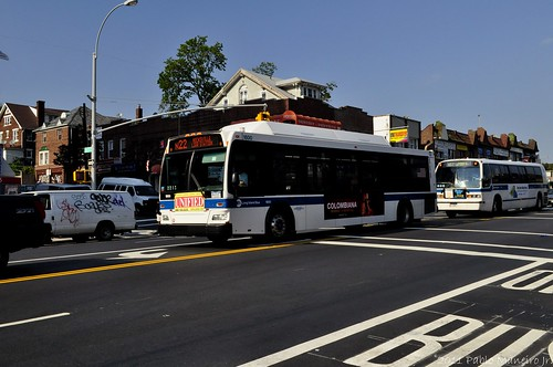 New York MTA Orion 07.501 Next Generation CNG Low Floor #1800