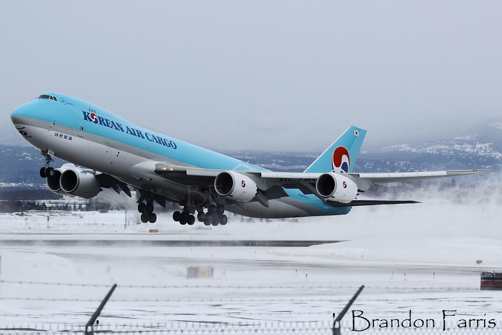 HL7609 - B748 - Korean Air