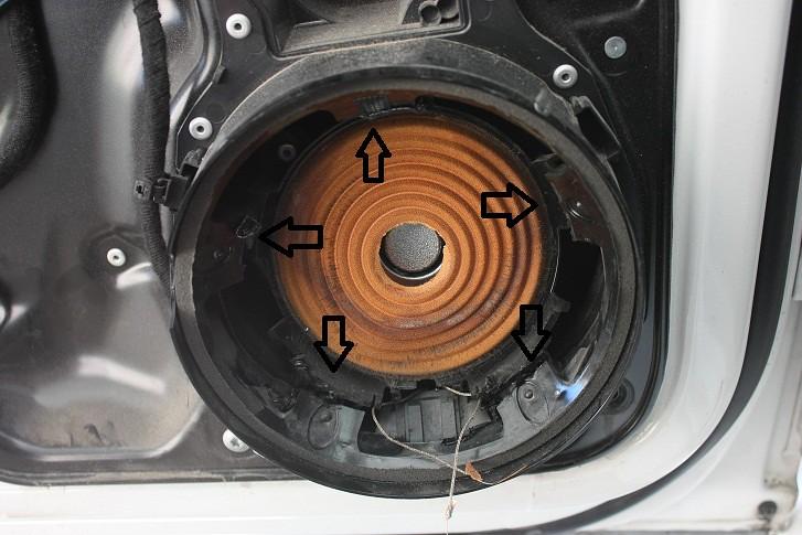 Volkswagen Passat Speaker Adapter Rings Installation