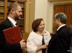 Ceremonia de entrega del Premio Iberoamericano 2012 en La República Checa