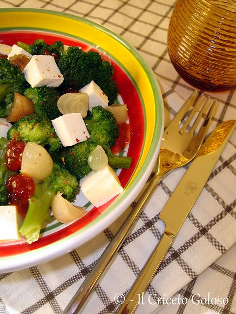Insalata di broccoli, primosale e cipolline 2