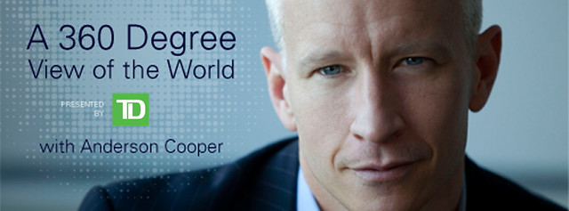 Anderson Cooper Vancouver