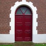 Chapel door, Chateau de Bécourt