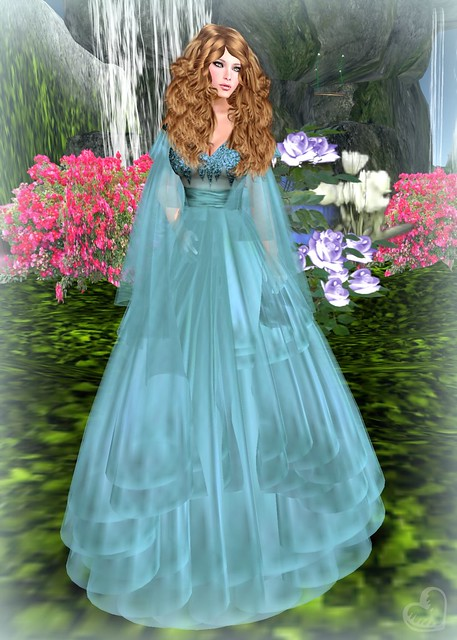 Artic STorm Fairy Nice Teal - Folklore Hunt
