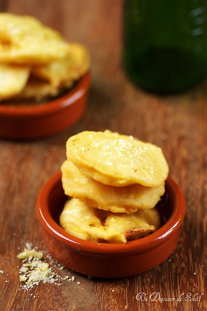 Tempura de patate douce