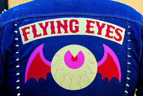 Flying Eyes jacket close