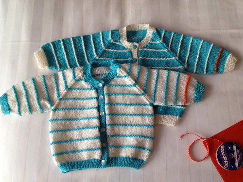 Xero knitting # 17 & 18