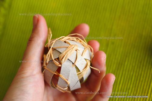 Manualidades para niños: Cómo hacer pollito de pascua de algodón fácil y rápido