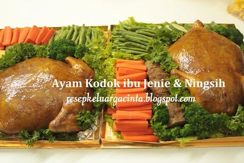 Ayam Kodok ibu Jenie & Ningsih