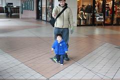 恵比寿ガーデンプレイスにて(2012/3/4)