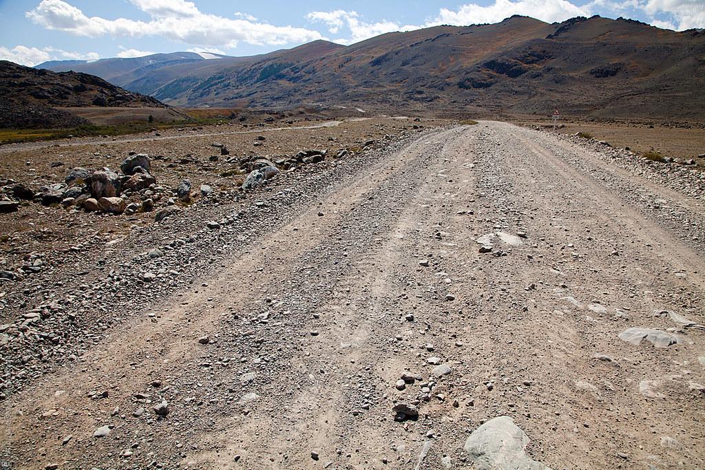 дорога в Джазатор за пограничным постом