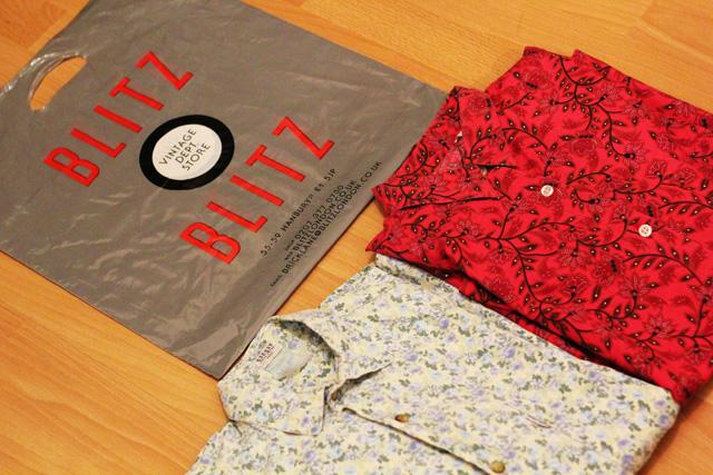 blitz vintage floral shirts