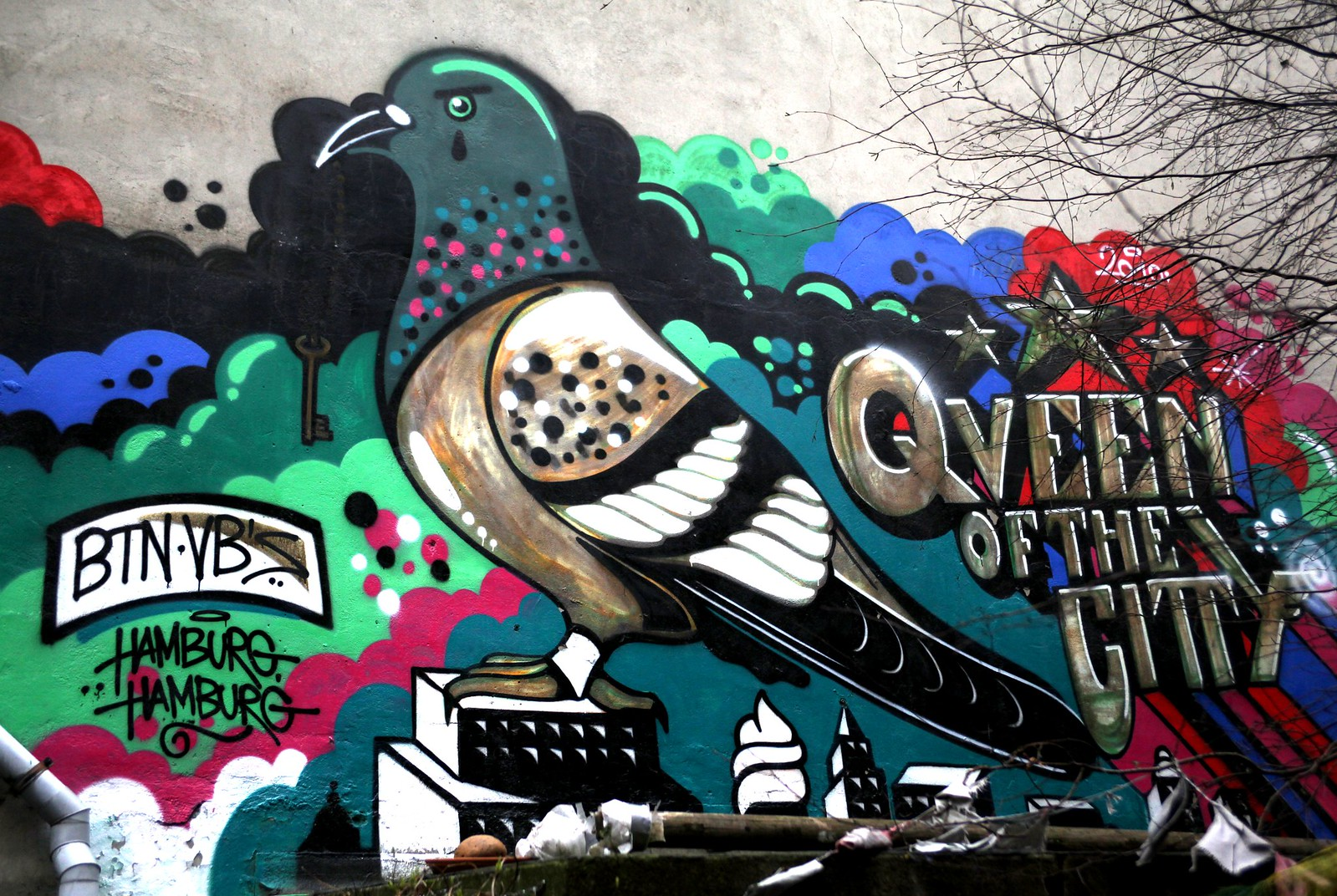 Graffiti Queen Hamburg
