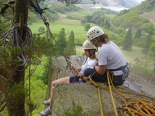 Teachers course abseil