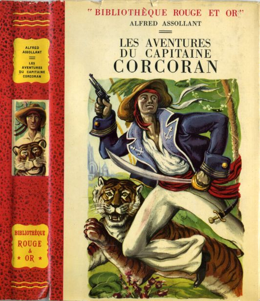 Les aventures du Capitaine CORCORAN, by Alfred ASSOLLANT