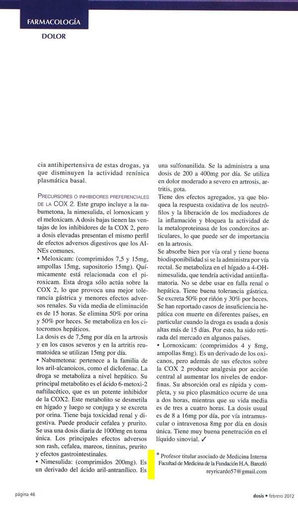 Revista Dosis Febrero 2012 (3)