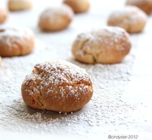 amaretti morbidi-italian macarons