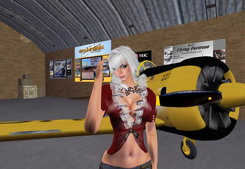 Second Life International Airport; Gateway to Blake Sea & USS by Cherokeeh Asteria