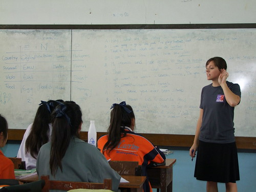 Volunteer Teaching in Febuary and March