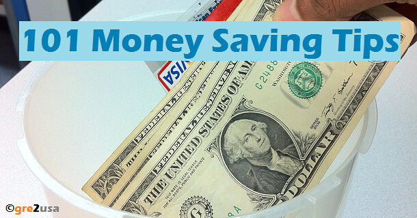 101 Money Saving Tips